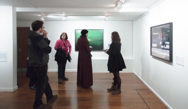 visiting the Trevor Paglen exhibition