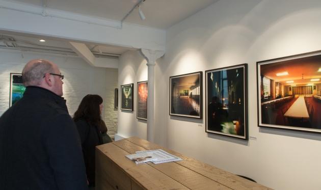 Tom Hunter's photographs on show