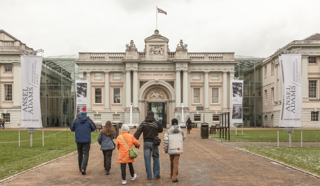 entrance to the National Maritime Museum