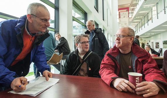 Gareth Dent, Rob TM, Nigel Monkton
