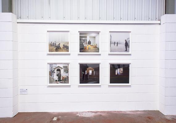 Delhi Doormen - exhibit by Jane Delarney