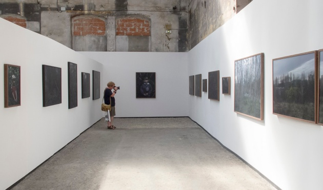 The exhibition space of Le Jardin