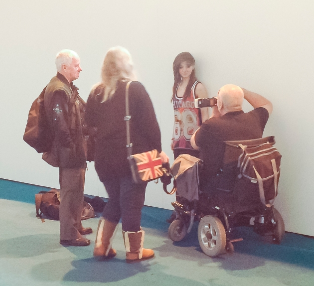 disabled photographer at The Photography Show