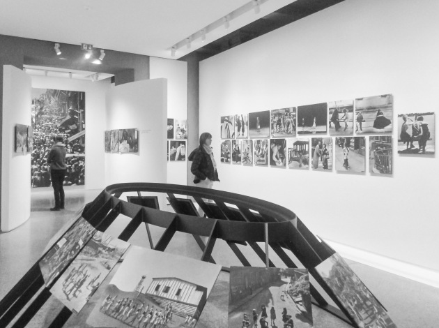 another view of the reconstructed exhibition space