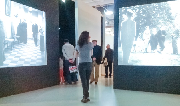 the movie part of the exhibition
