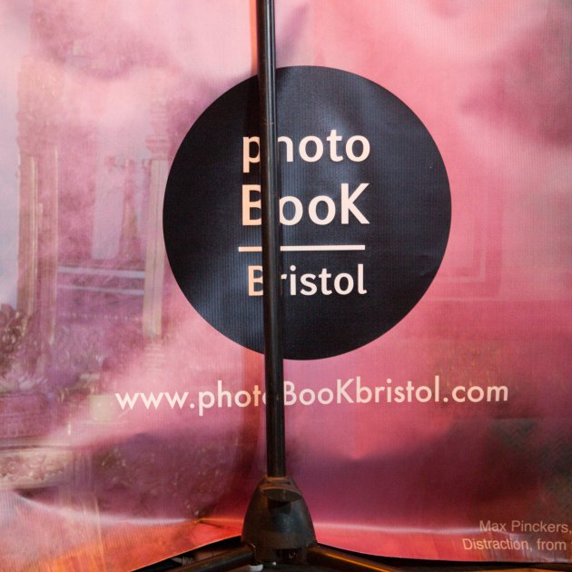 photo book week-end poster and microphone stand
