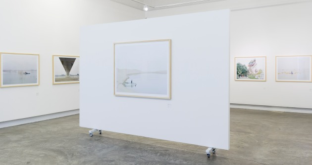 The Yellow River exhibition at The +3 Gallery