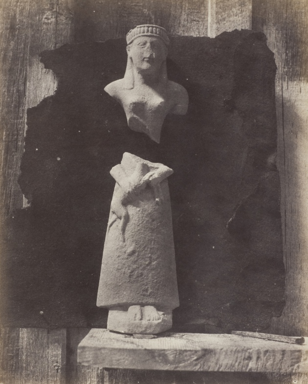Statue by Auguste Salzmann 1858-65