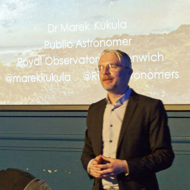 Dr.Marek Kukula from the Royal Observatory